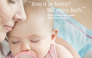 [Translate to English (british):] Baby bottles and teats brochure