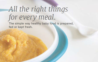 [Translate to English (british):] NUK brochure about baby food