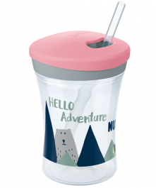 NUK Hello Adventure Action Cup 230ml with straw