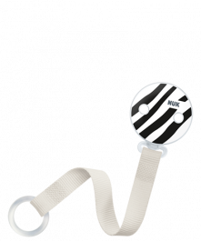 NUK Monochrome Animals Soother Band