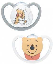 NUK Disney Winnie the Pooh Space Silicone Soother