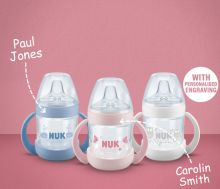 NUK Learner Bottle with engraving