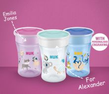 NUK Magic Cup with engraving