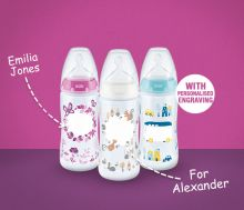 NUK Baby Bottle with engraving