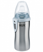 NUK Active Cup Stainless Steel 215ml with spout