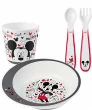 NUK Disney Mickey Tableware Set