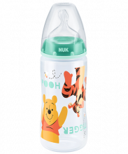 NUK First Choice Plus Disney Winnie the Pooh Baby Bottle 300ml with teat