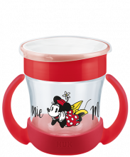 NUK Disney Mickey Mouse Mini Magic Cup 160ml with drinking rim and lid