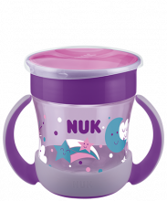 NUK Mini Magic Cup Night 160ml with drinking rim and lid