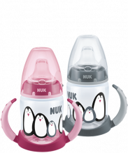 NUK Monochrome Animals First Choice Learner Bottle Duo Set