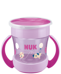 NUK Mini Magic Cup 160ml with drinking rim and lid
